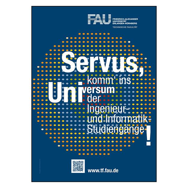 FAU Erlangen-Nürnberg / Technische Fakultät (1/1 Seite DIN A4/A5)