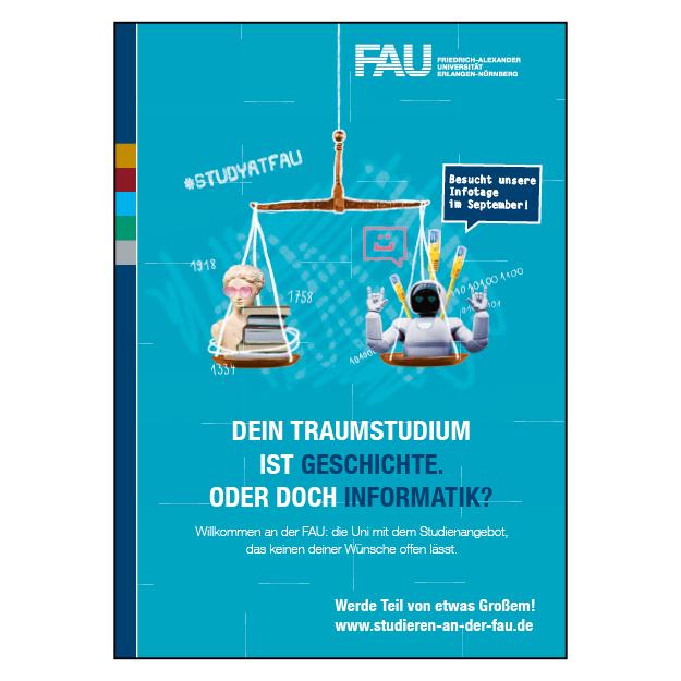 FAU Erlangen-Nürnberg (1/1 Seite DIN A4)