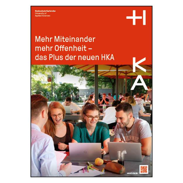 Hochschule Karlsruhe (1/1 Seite DIN A4)