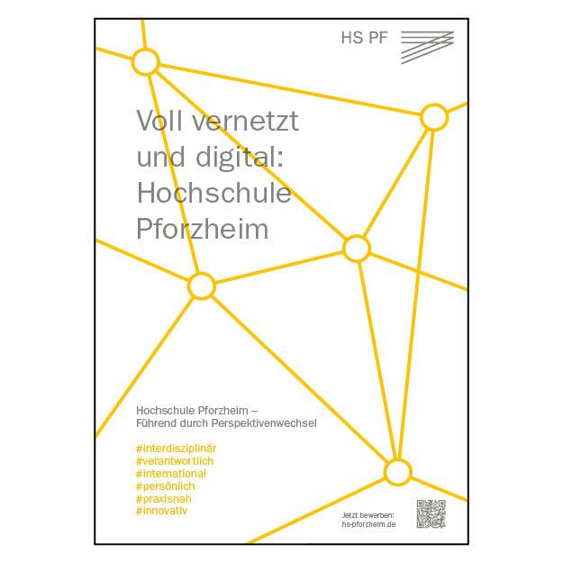 Hochschule Pforzheim (1/1 Seite DIN A4)